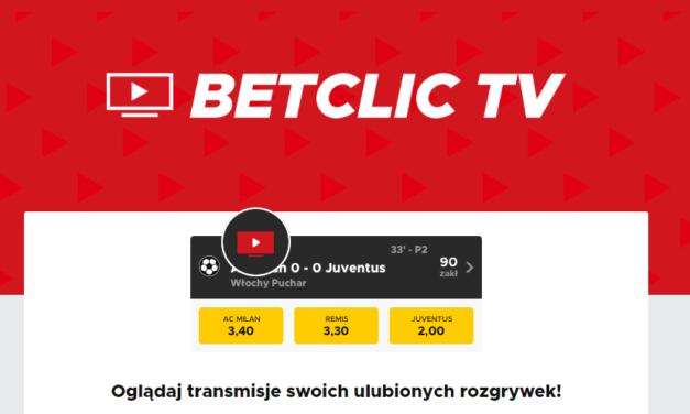 Betclic TV. Jak oglądać mecze na Betclic za darmo?